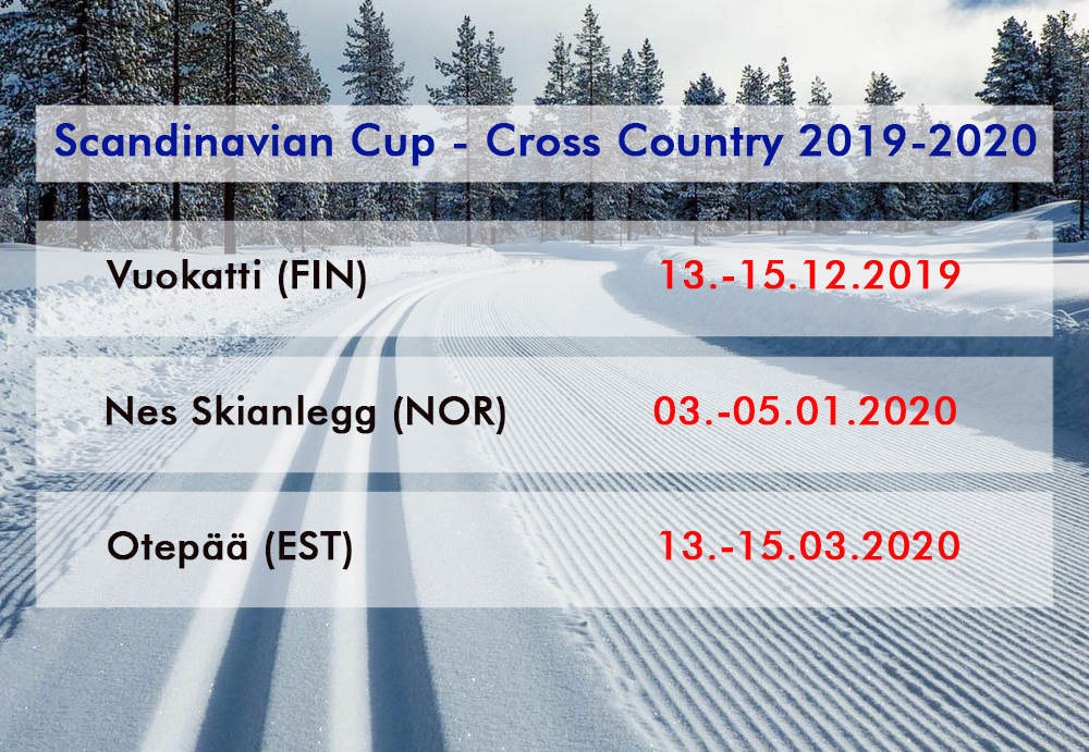 Scandinavian Cup - Cross Country 2019-2020 Langre12