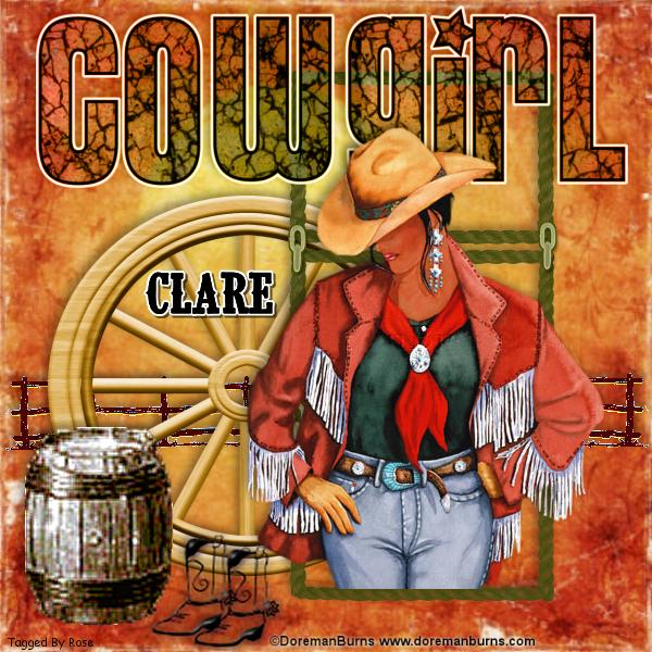 COWBOY/COWGIRL TAGS Cowgi227