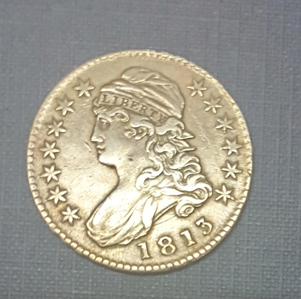 50 cents 1813 EEUU. ¿ Estado de conservación ? 20190610
