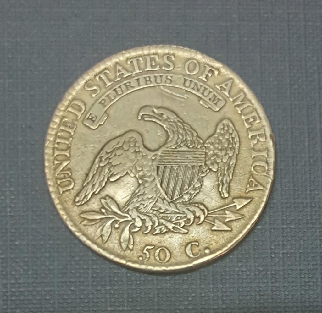 50 cents 1813 EEUU. ¿ Estado de conservación ? 20190612