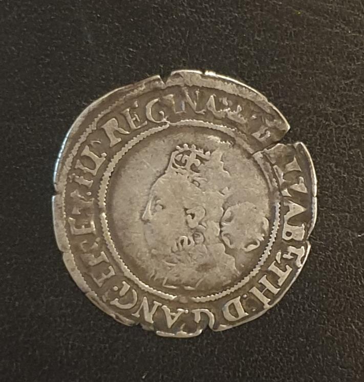 Elizabeth I -  sixpence 20191210