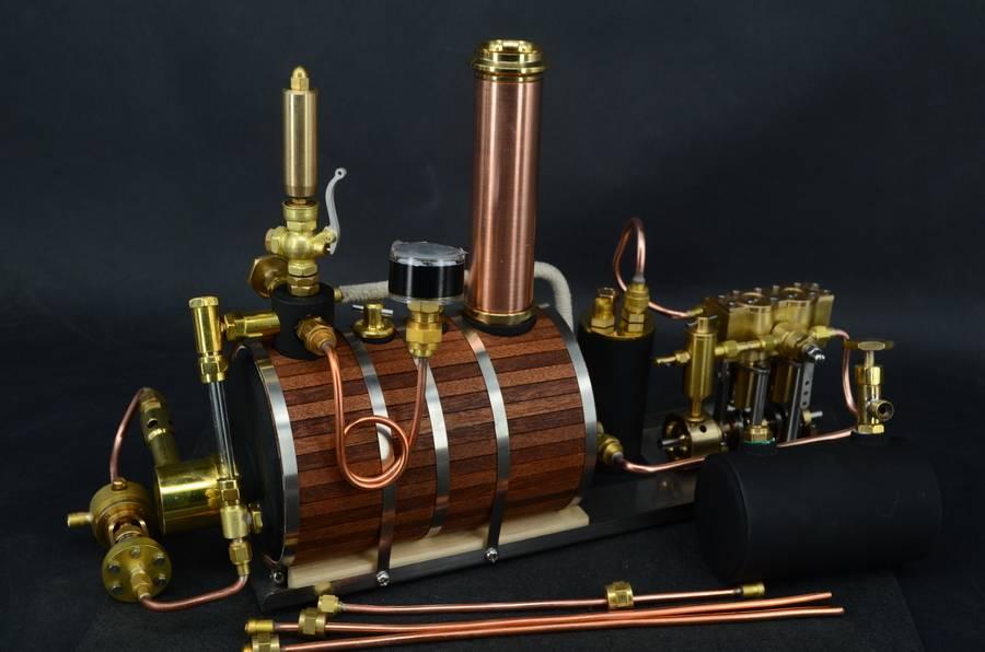 Progetto battello dinamico a vapore 120010