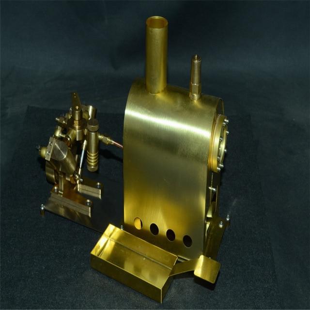 Progetto battello dinamico a vapore Hot-sa10
