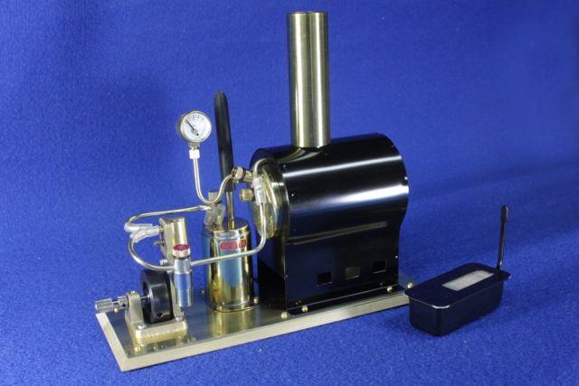 Progetto battello dinamico a vapore Saito-10