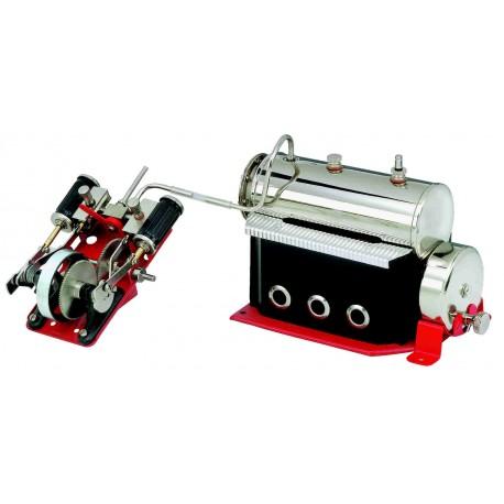 Progetto battello dinamico a vapore Wilesc10
