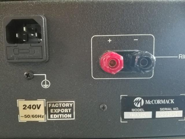 McCormack DNA-125 power amplifier 20200216