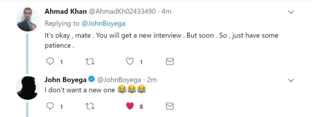 Discussions: Tweets/Instagram - Page 7 Boyega11