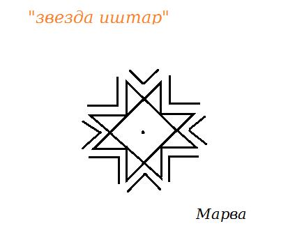 Звезда Иштар     Автор Марва 24__ia10