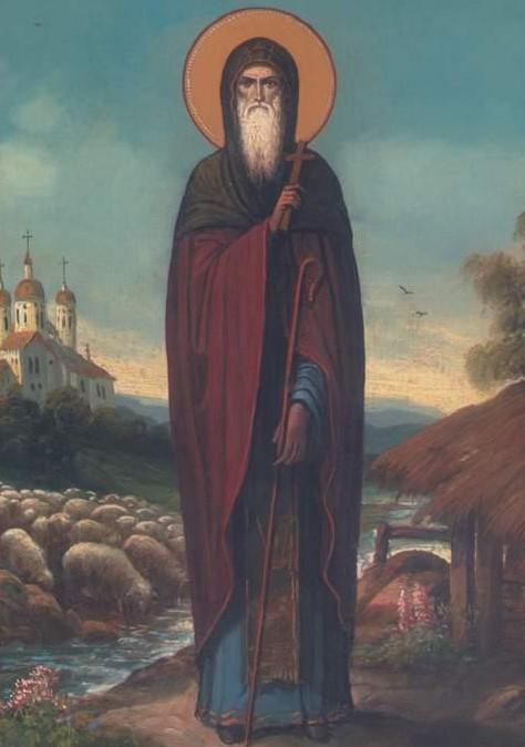 Παρακλητικός Κανών εις τον Όσιο Δημήτριο τον Νέο Μπασαράμπη Osiosd10