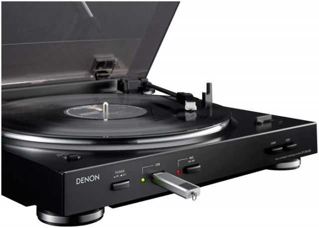 Denon DP-200USB Fully Automatic Turntable with USB 61qid610
