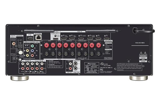 Pioneer VSX-933 7.2Ch Atmos Network AV Receiver (Sold Out) 816qhv10