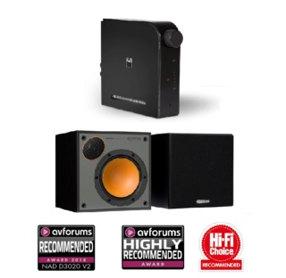 NAD D3020 V2 + Monitor Audio Monitor 50 Hi-Fi System Package Es_147