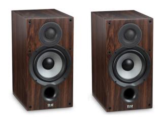 ELAC Debut 2.0 B5.2 Bookshelf Speaker (Walnut) Es_210