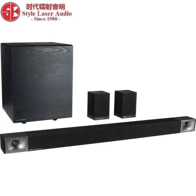 Klipsch Cinema 600 Sound Bar 5.1 Surround Sound System Es_2102