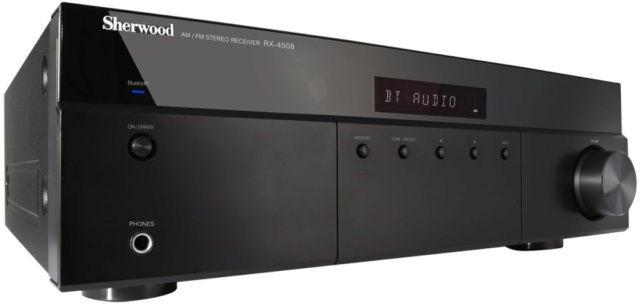 Sherwood RX4508 Stereo Receiver with Bluetooth And FM Tuner Es_238