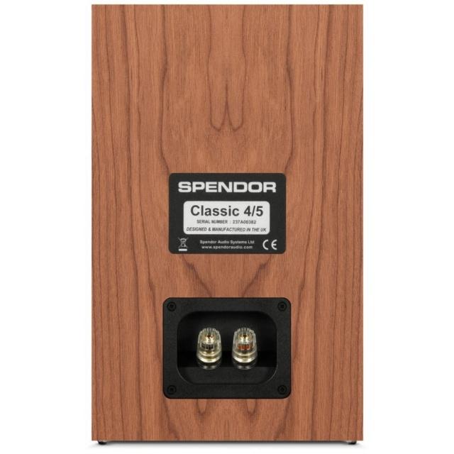 Spendor Classic 4/5 Bookshelf Speaker Made In UK Es_3108
