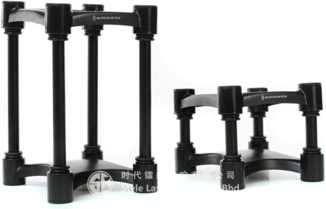 IsoAcoustics ISO-L8R155 Monitor Stand (Pair) Es_325