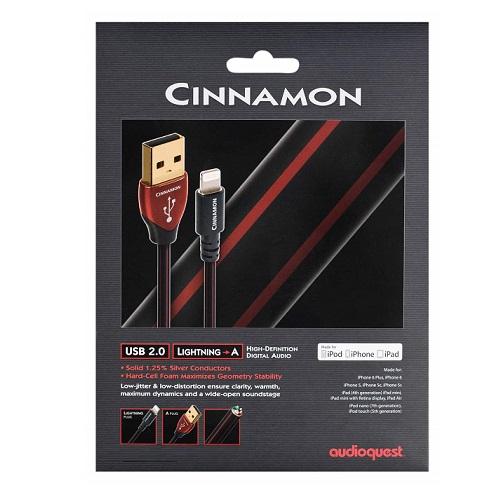 Audioquest Cinnamon Lightning USB Cable 1.5Meter Es_451