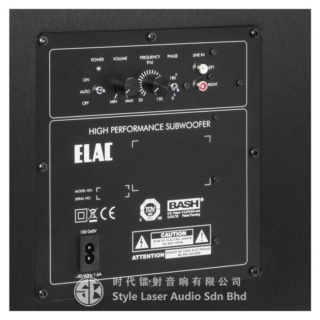 "Elac Debut S10EQ 10"" 400W Powered Subwoofer Es_612"