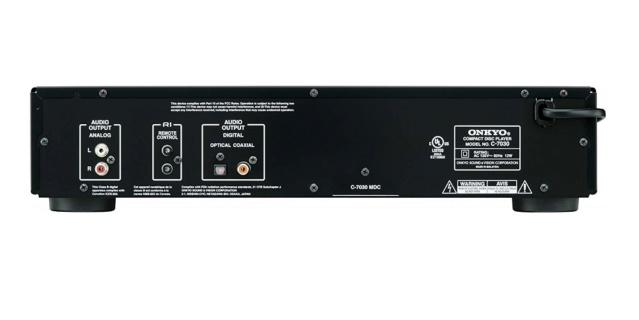 Onkyo C-7030 CD Player Es_71v10