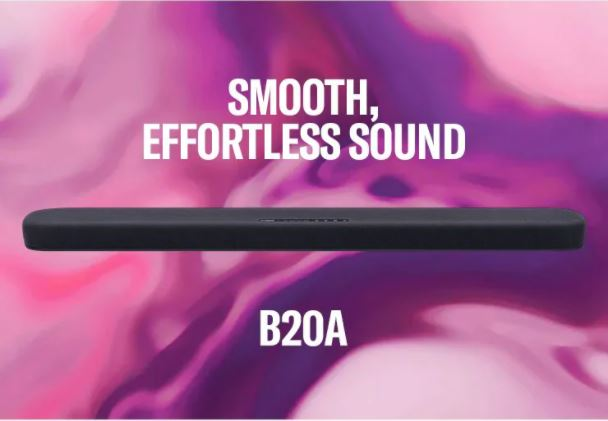 Yamaha SR-B20A Sound Bar with Built-in Subwoofer Es_a19
