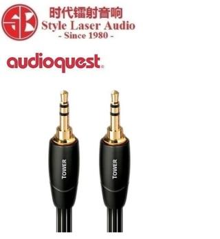 Audioquest Tower 3.5mm to 3.5mm Interconnect 1.5Meter Es_au102