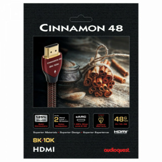 Audioquest Cinnamon 48 8K HDMI Cable Es_au108