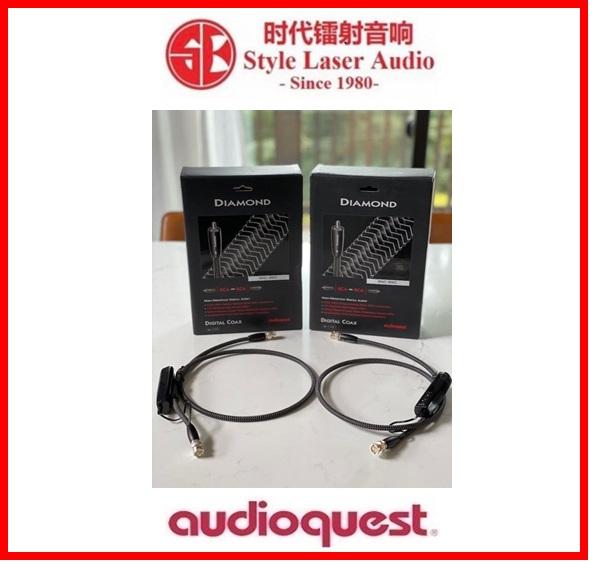 Audioquest Diamond Digital Coax BNC To BNC Cable 1.5Meter Made In USA Es_au119