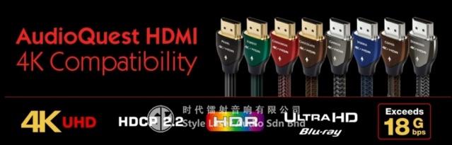 AudioQuest Carbon 2M HDMI 4K Cable Es_aud65
