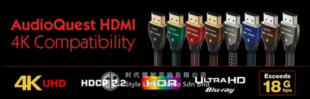 AudioQuest Vodka 2M HDMI 4K Cable Es_aud72