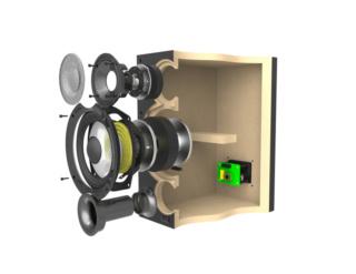 ELAC Debut 2.0 B5.2 Bookshelf Speaker (Walnut) Es_b6-13