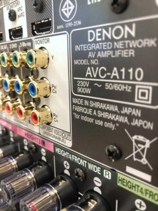 Denon AVC-A110 110th Anniversary Edition AV Receiver Made In Japan Es_de101