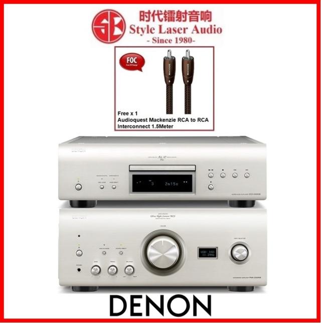 Denon PMA-2500NE Integrated Amplifier & Denon DCD-2500NE CD Player Made In Japan Es_de144
