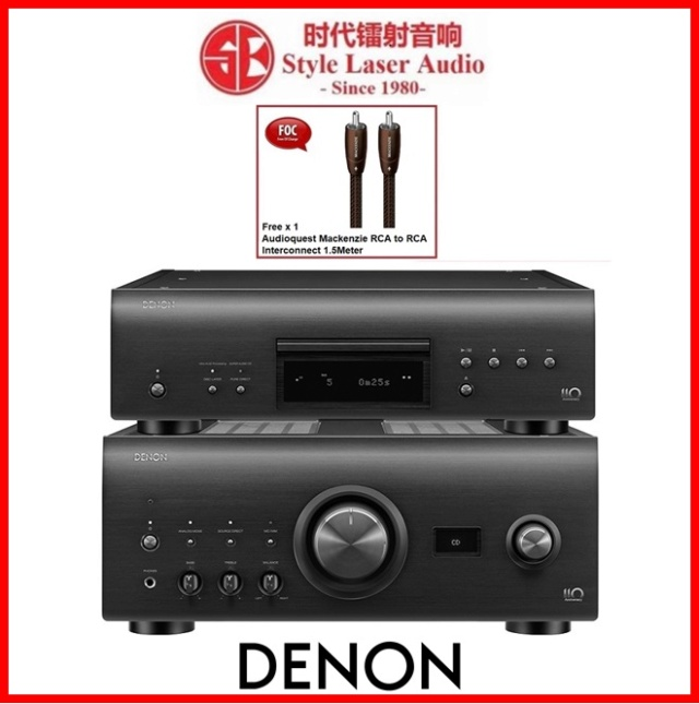 Denon PMA-A110 Integrated Amplifier & DCD-A110 CD Player Made In Japan Es_de154
