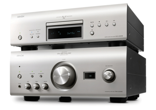 Denon PMA-2500NE Integrated Amplifier & Denon DCD-2500NE CD Player Made In Japan Es_den16