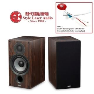 ELAC Debut 2.0 B5.2 Bookshelf Speaker (Walnut) Es_el102