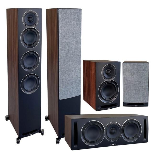 ELAC Uni-Fi Reference UFR52 + UCR52 + UBR62 Speaker Package Es_el123