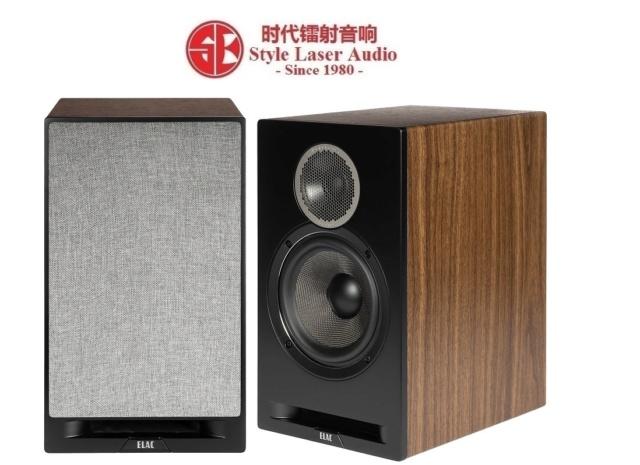 ELAC Debut Reference DBR62 Bookshelf Speaker (Black) Es_ela95