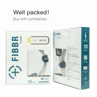 FIBBR Crystal 4K HDMI Cable 1 Meter Es_fib22