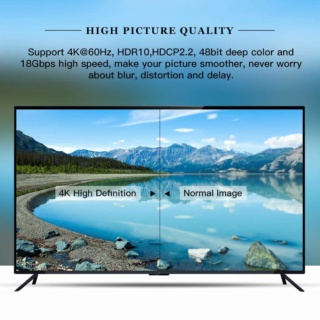 FIBBR Crystal 4K HDMI Cable 1 Meter Es_fib24