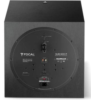 """Focal Chora Sub 600P 12"""" Powered Subwoofer Es_foc26"""