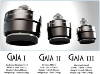 Iso Acoustics GAIA III Acoustic Isolation Stand (8 Pcs) Es_gai10