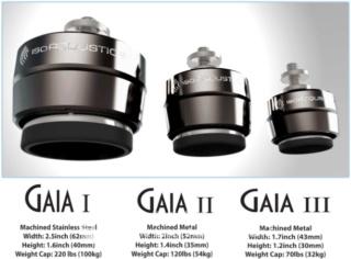 Iso Acoustics GAIA III Acoustic Isolation Stand (8 Pcs) Es_gai10