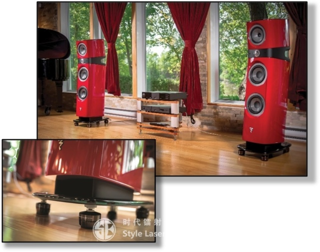 Iso Acoustics GAIA III Acoustic Isolation Stand (8 Pcs) Es_gai11