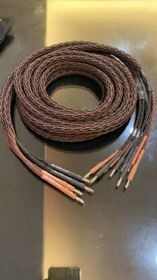 Kimber Kable 8PR Bi-Wired Speaker Cable Made In USA Es_kim18