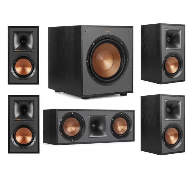 Klipsch R-51M 5.1 Speaker Package Es_kl114