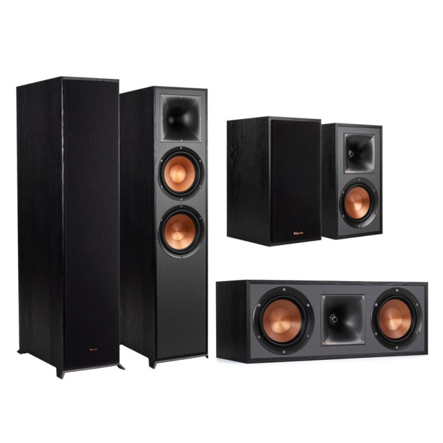 Klipsch R-820F 5.0 Speaker Package Es_kl131