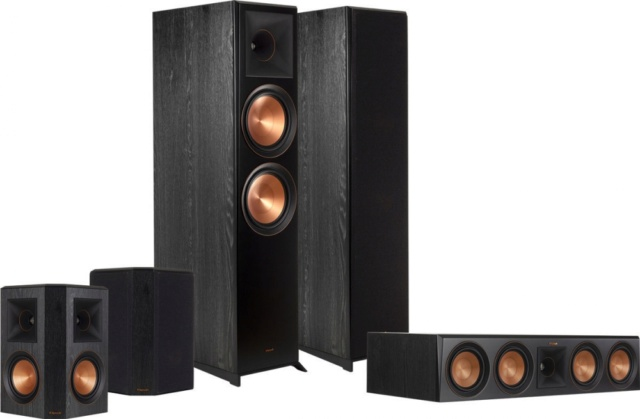 Klipsch RP-6000F 5.0 Speaker Package Es_kl136