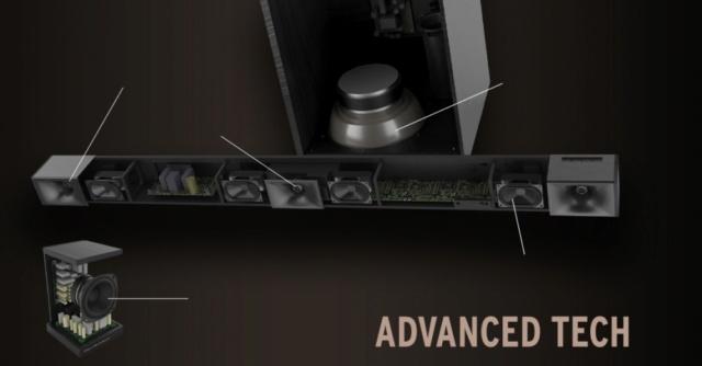 Klipsch Cinema 600 Sound Bar 5.1 Surround Sound System Es_kl161