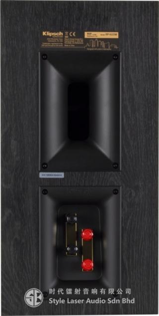 Klipsch RP-600M Bookshelf Speaker Es_kli37